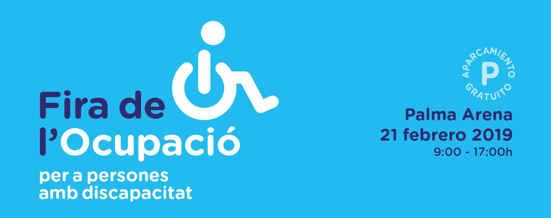 El 21 de febrero tendrá lugar la primera Feria de Empleo y Discapacidad organizada por ASPROM